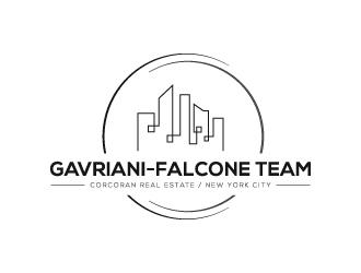 Gavriani-Falcone Team  at Corcoran logo design