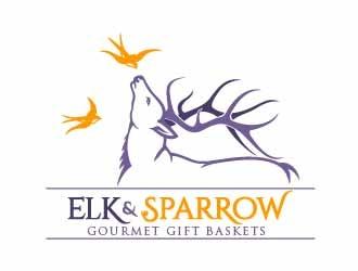 Elk & Sparrow logo design