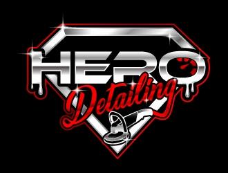 Hero Detailing  logo design