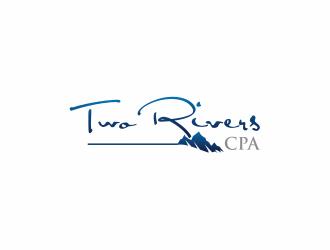Two Rivers CPA logo design