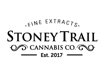 Stoney Trail Cannabis Co. logo design