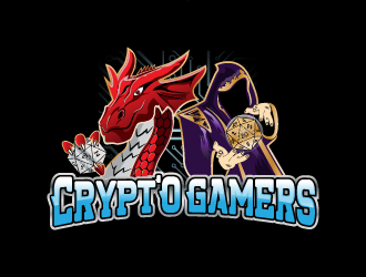 CryptO Gamers logo design