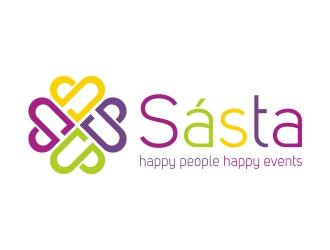 Sásta logo design