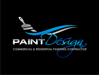 PaintDesign logo design