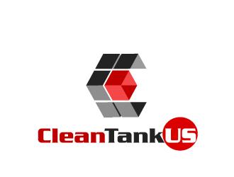 CleanTankUS logo design