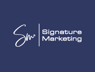 Signature Marketing logo design