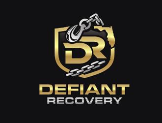 Defiant Recovery logo design