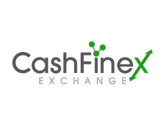 CashFinex Exchange logo design