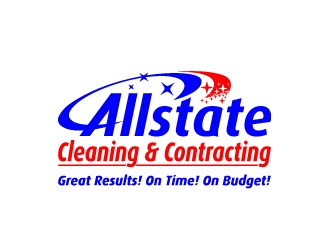 Allstate Cleaning & Contracting logo design