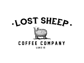 Lost Sheep Coffee Company Logo Design 48hourslogocom