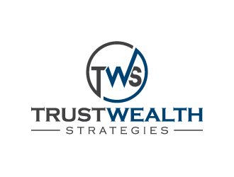 Trust Wealth Strategies logo design