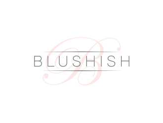 Blushish  logo design