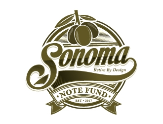 Sonoma Note Fund  logo design