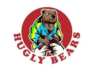Hugly Bears logo design
