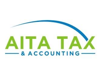 AITA Tax  - the name can also be AITA Tax & Accounting logo design