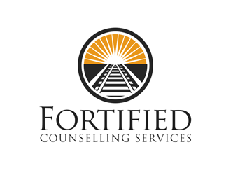 Fortified counseling services logo design