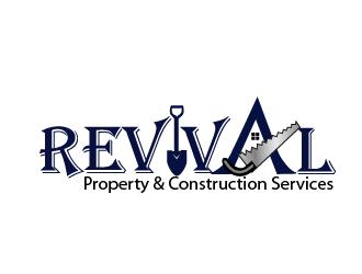 Revival Property & Construction Services logo design