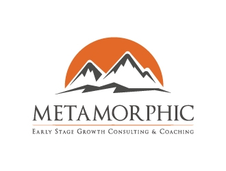 Metamorphic - Early Stage Growth Consultant and Coach logo design