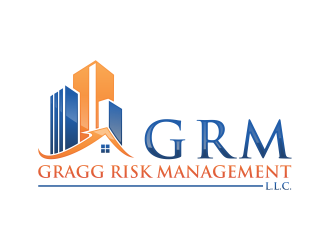 Gragg Risk Management, L.L.C. using the acronym GRM. logo design