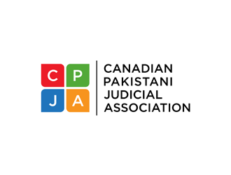 Canadian Pakistani Judicial Association  logo design
