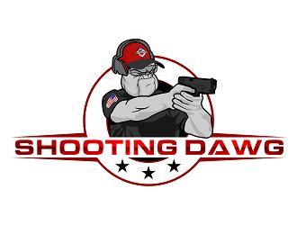 Shooting Dawg logo design