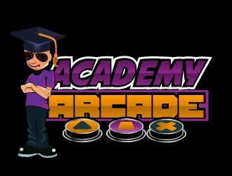 Academy Arcade logo design