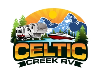 Celtic Creek RV logo design