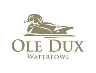 Ole Dux Waterfowl  logo design