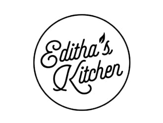 Editha's Kitchen logo design