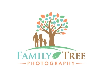 Family Tree Photography logo design