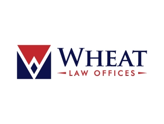 Wheat Law Offices logo design