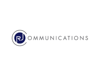 RJ Communications logo design