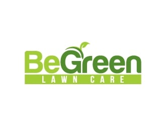 BeGreen Lawn Care logo design