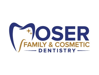 Moser Family & Cosmetic Dentistry logo design