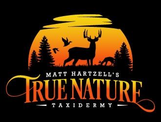 Matt Hartzell's True Nature Taxidermy logo design