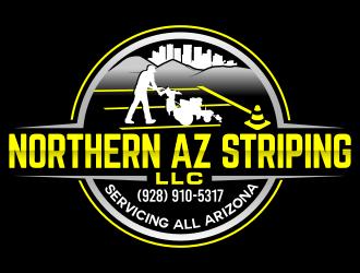 Northern AZ Striping LLC logo design