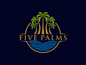 Five Palms  logo design