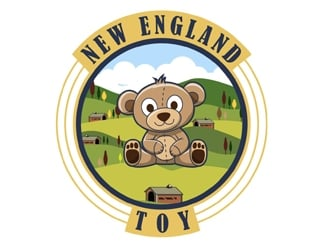 New England Toy logo design