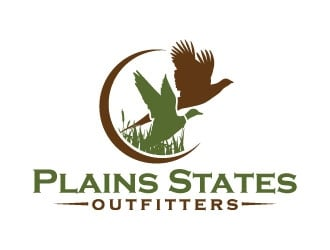 Plains States Outfitters logo design