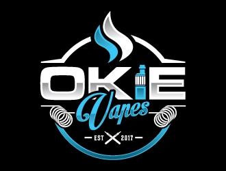 OKIE VAPES logo design