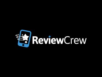 Review Crew logo design