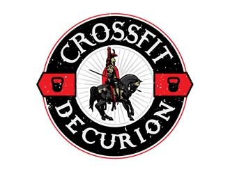 CrossFit Decurion logo design