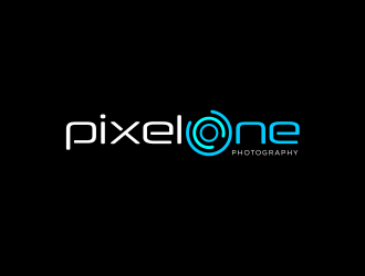 Pixel One Photography logo design