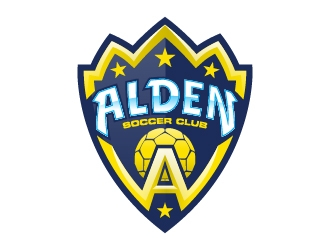 Alden soccer club  logo design