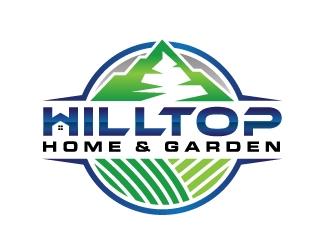 Hilltop Home & Garden logo design