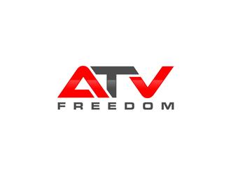 ATV Freedom logo design