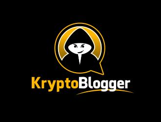 KryptoBlogger logo design