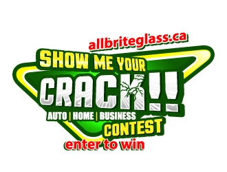 Show me Your CRACK!! logo design