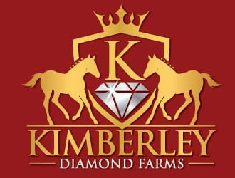 Kimberley Diamond Farms logo design