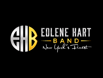 Edlene Hart Band - New Yorks Finest logo design
